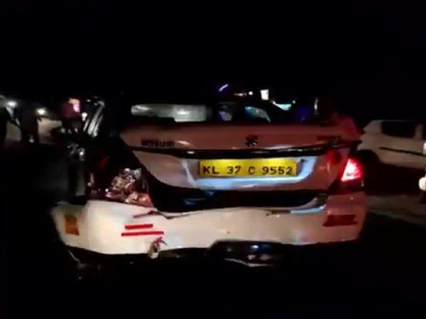 Kerala_BJP_Vice_President_Abdullah_Kutty_Car_accident_UpdateNews360