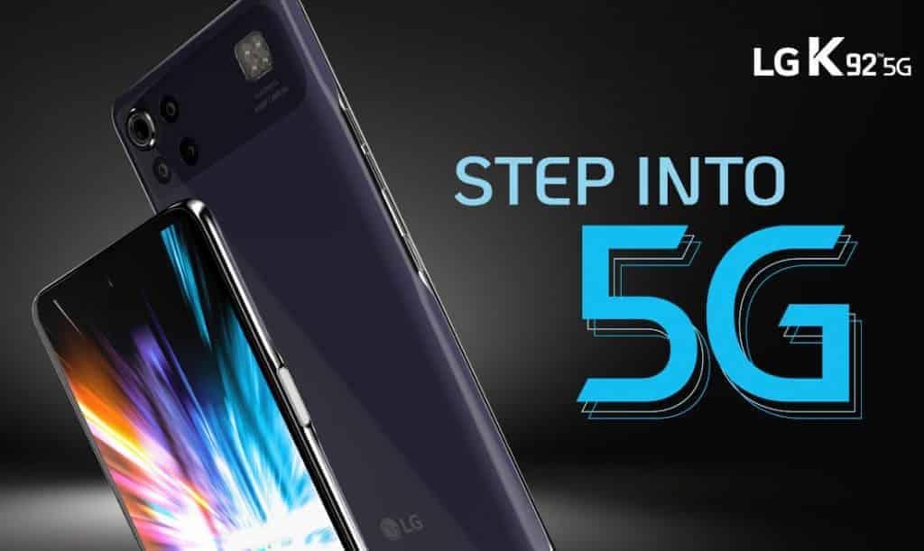 LG K92 5G announed with Snapdragon 690 SoC, 64MP quad rear cameras