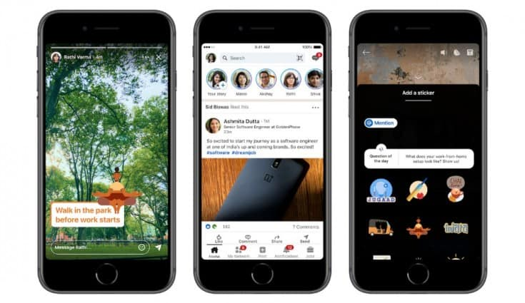LinkedIn Stories launched in India
