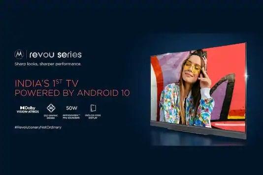 Motorola Revou, ZX2 smart TVs launched in India