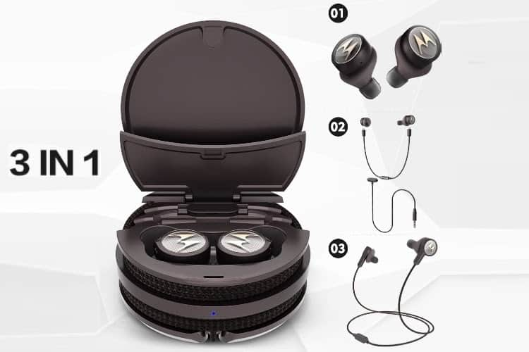Motorola launches 3-in-1 Smart TWS Earbuds at a special price