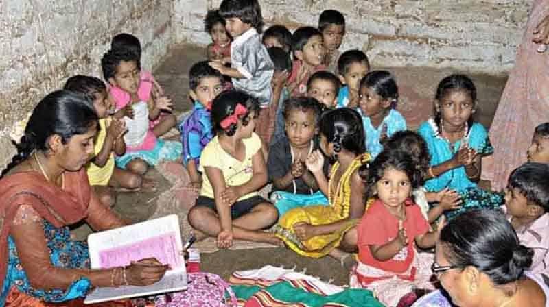 Anganwadi children