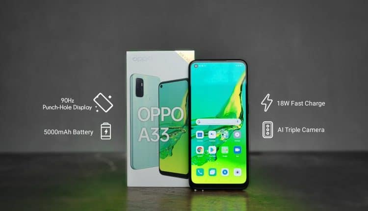 Oppo A33 launched in India for Rs 11,990, comes with triple rear cameras, 5000mAh battery