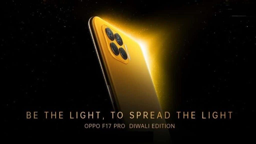 Oppo F17 Pro Diwali edition pre-order starts today