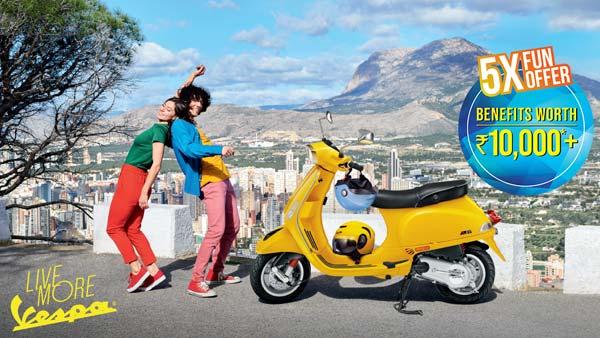 Piaggio announces festive season offers on Vespa and Aprilia scooters