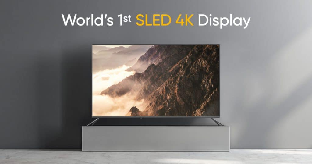 Realme 55-inch Smart SLED 4K TV launched in India