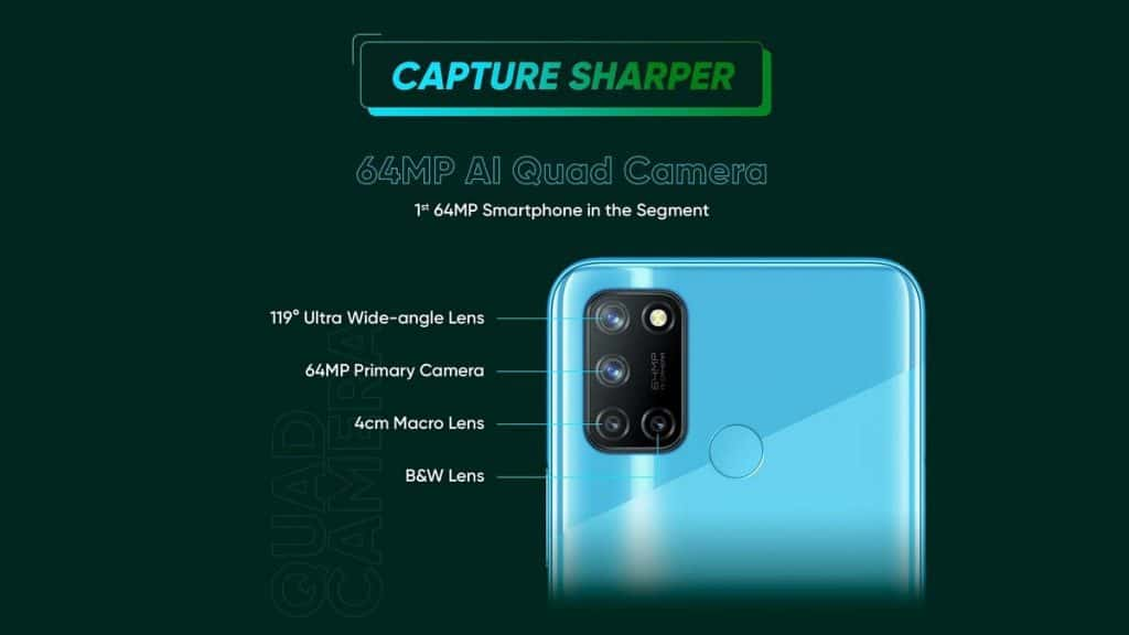 Realme 7i launched in India with 64MP quad rear cameras, 5000mAh battery