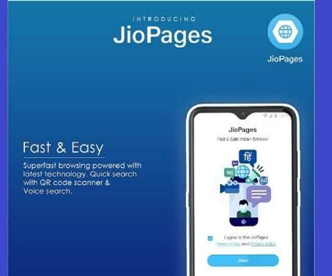 Reliance Jio Launches JioPages Browser: Features And Other Details