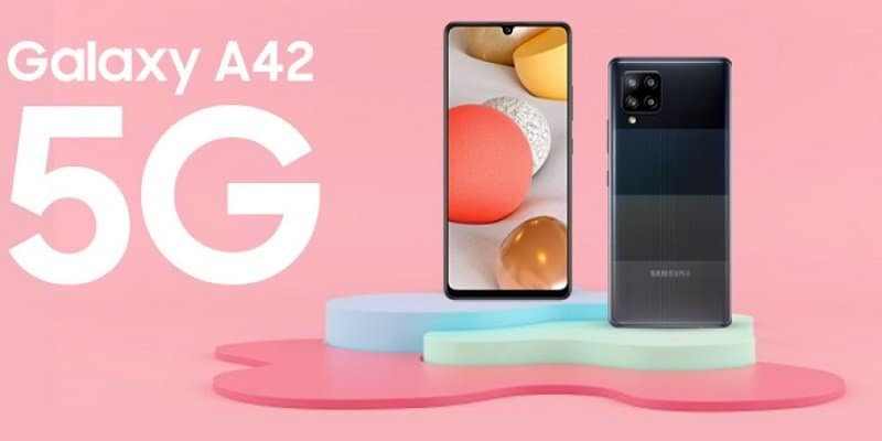 Samsung launches Galaxy A42 5G, its most affordable 5G phone to date