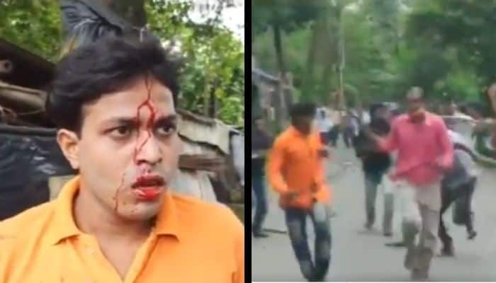 TMC_Attacks_BJP_Members_UpdateNews360