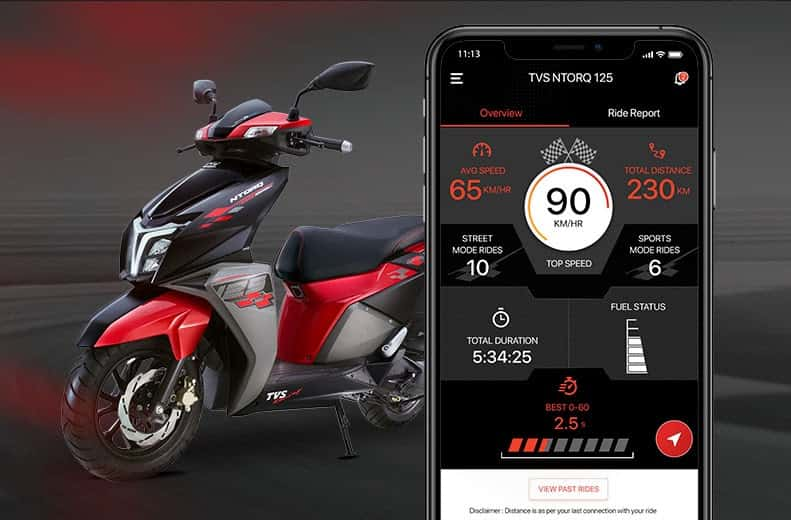 TVS Ntorq 125 available with easy finance schemes and cashback offers