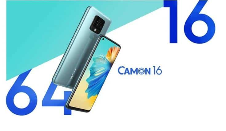 Tecno Camon 16 launching on 10th October in India