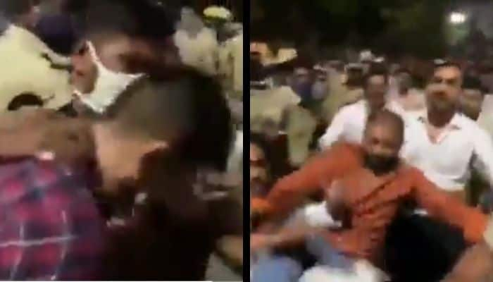 Telangana_ANI_Reporter_Attack_by_Congress_Updatenews360