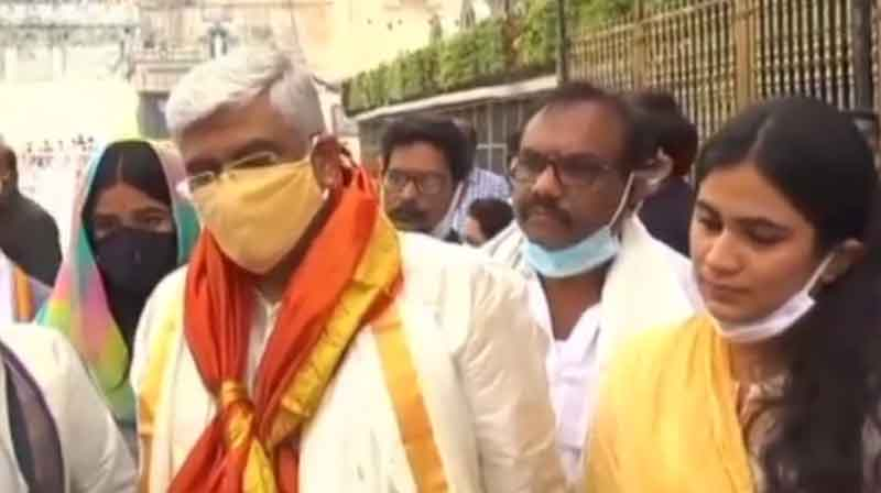 Tirupati Minsiter Dharshan - updatenews360
