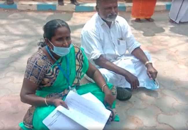 dalit leader protest - - updatenews360