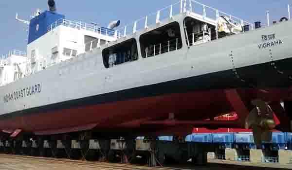 vigraha coastguardship - updatenews360