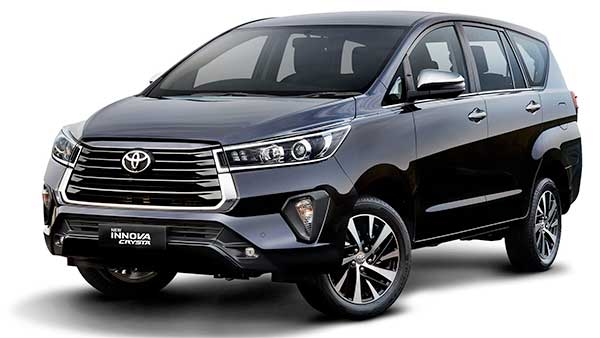 New Toyota Innova Crysta Facelift Launched In India