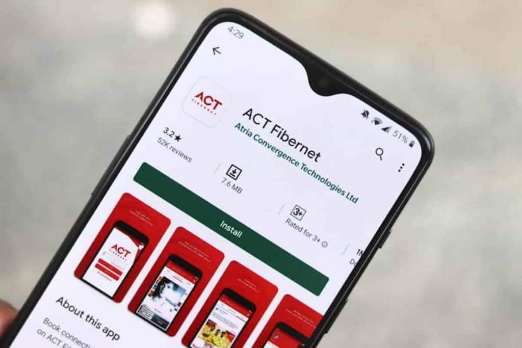ACT Fibernet Offering Rs. 100 Cashback To New Customers