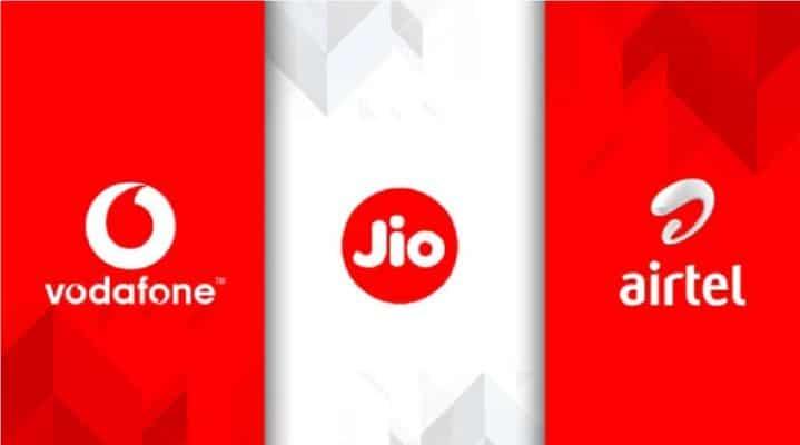 Best prepaid plan of Jio, Airtel and Vodafone-idea in Indian telecom market