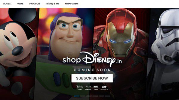 Disney To Open Online Store, ShopDisney In India