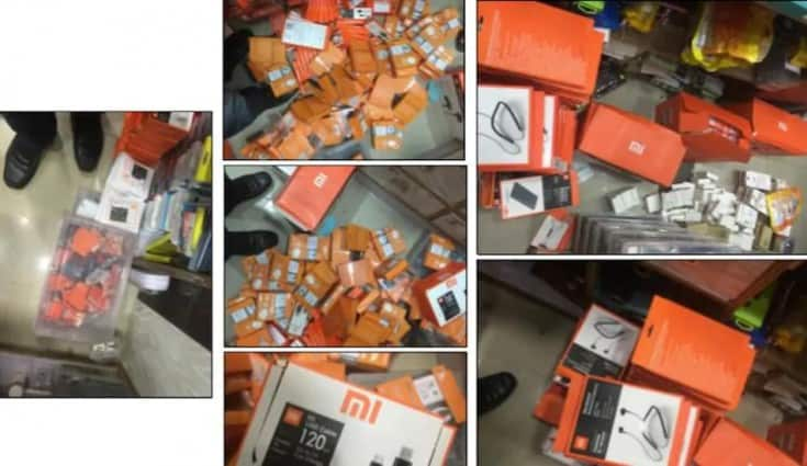 Fake Xiaomi products worth Rs 33.3 lakh seized in Bangalore and Chennai