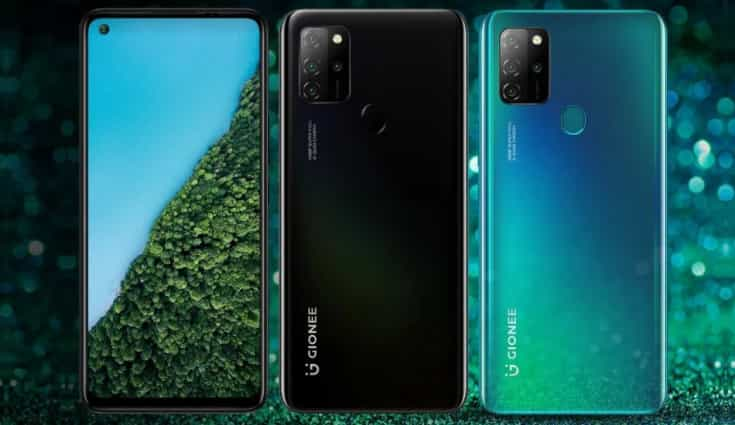 Gionee M12 goes official with quad rear cameras, 5,100mAh battery