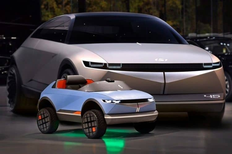 Hyundai Made a Mini EV for Kids & It's the Cutest Thing You Will See Today