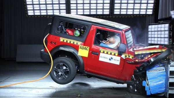 Mahindra Thar Secures Four-Star Rating At Global NCAP Crash Tests