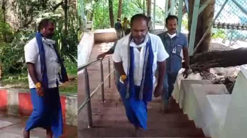 Minister Tirupati Yatra - Updatenews360