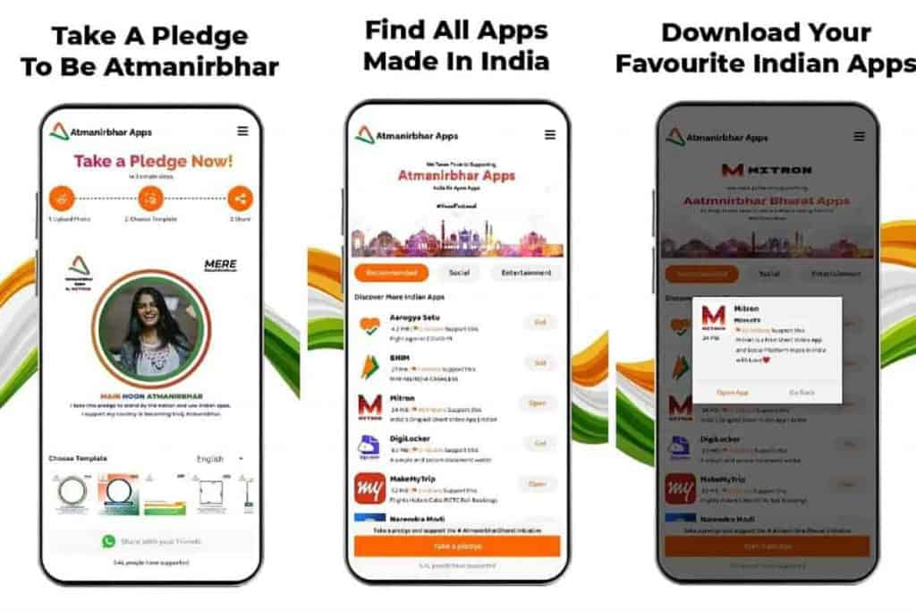 Mitron brings Atmanirbhar App to Google Play, lets you easily search other India-made apps