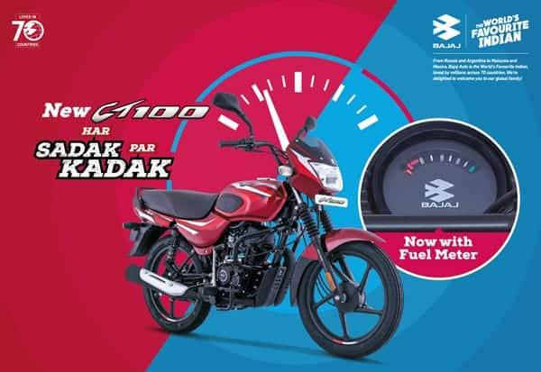 New Bajaj CT100 'Kadak' Motorcycle Launched In India