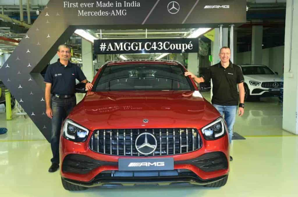 New Mercedes-Benz GLC 43 AMG Coupe launched in India at Rs 76.70 lakh