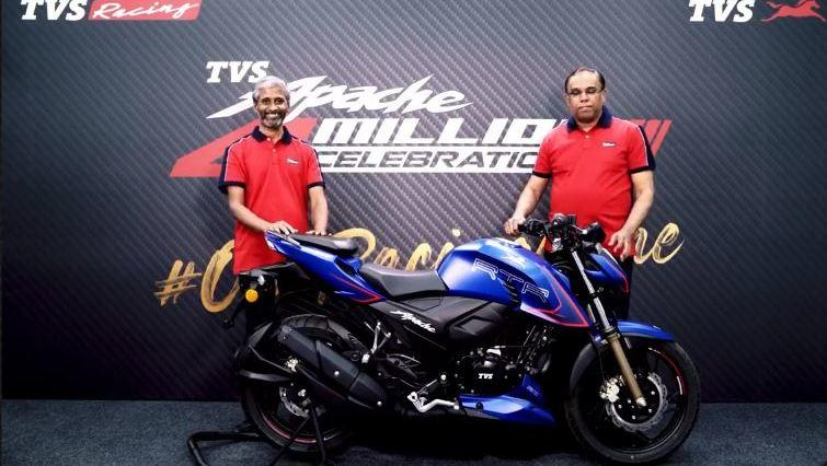 New TVS Apache RTR 200 4V launched at Rs 1.31 lakh in India