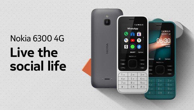 Nokia launches the Nokia 6300 4G, Nokia 8000 4G running on KaiOS