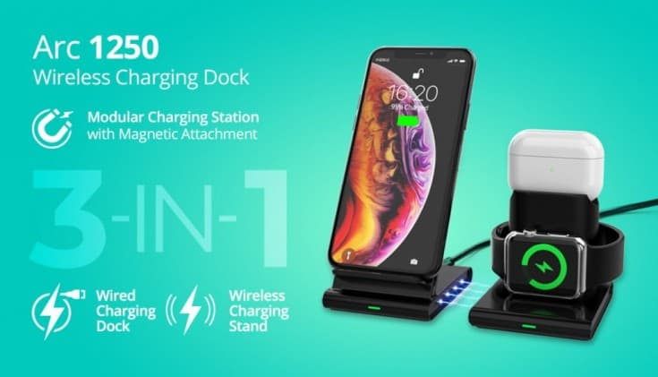 RAEGR Arc 1250 3-in-1 charging station launched for Rs 2999