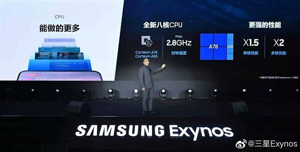 Samsung launches its 5nm Exynos 1080 processor with 144Hz refresh rate support and more