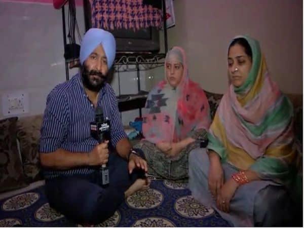 Shazia Kausar, wife of martyr Constable Naseer Ahmad_UpdateNews360