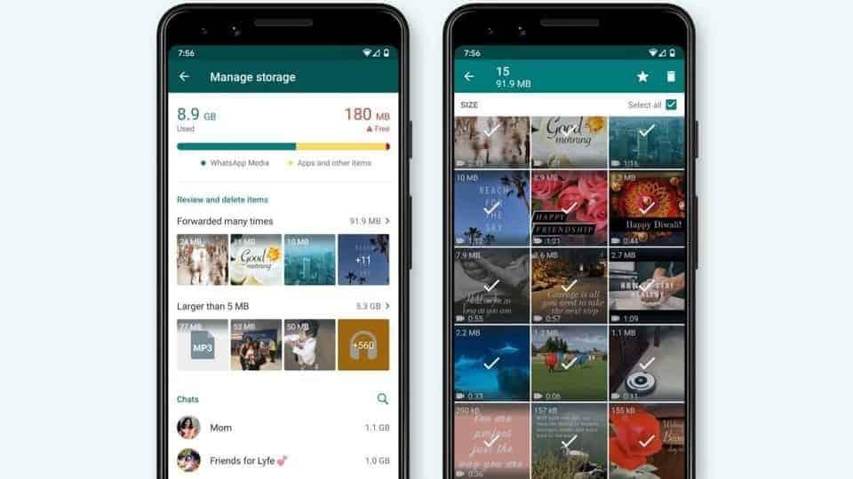 WhatsApp launches new storage management tools