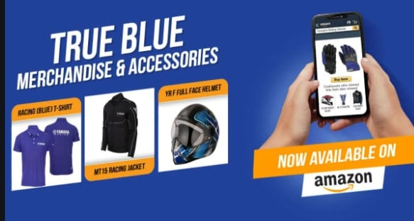 Yamaha apparels and accessories available on Amazon India
