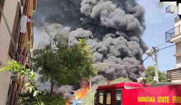 bangalore fire - updatenews360