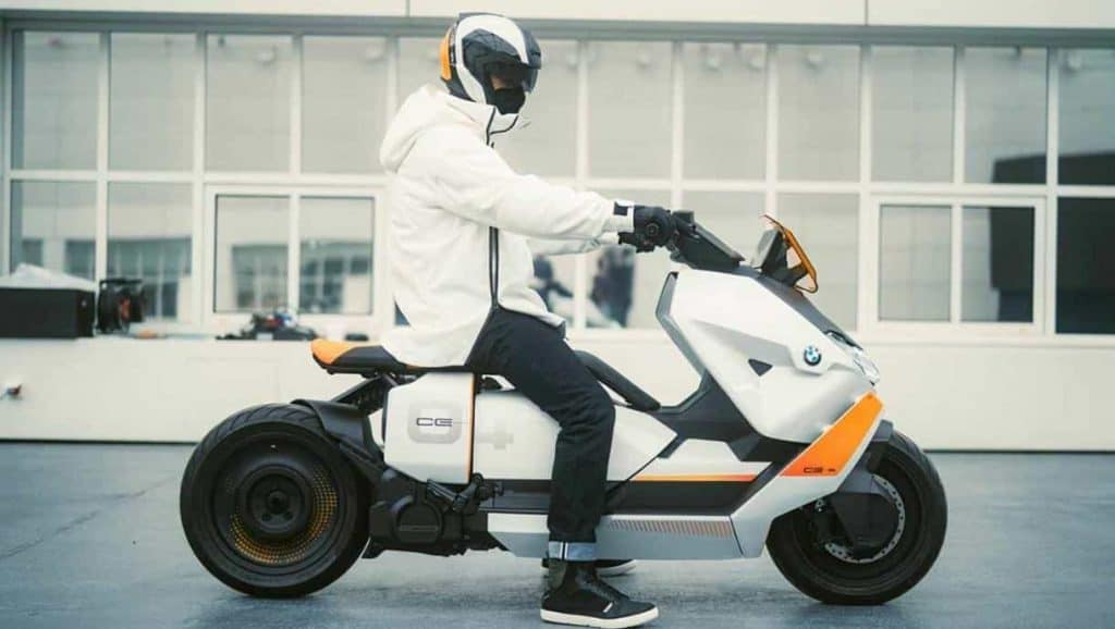 BMW unveils futuristic electric scooter concept 'Definition CE 04'