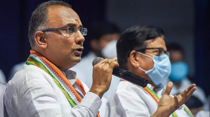 dinesh gundu rao - congress - updatenews360