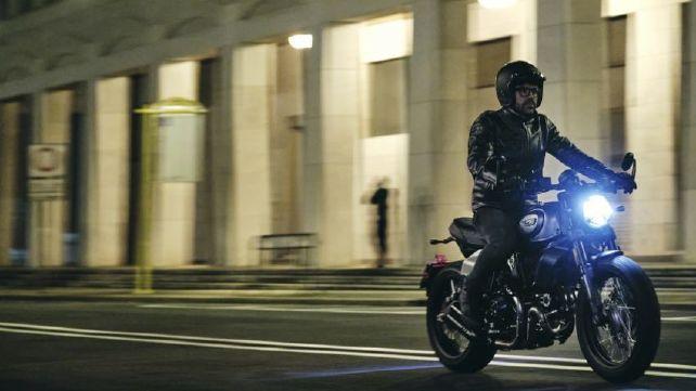 New Ducati Scrambler Nightshift