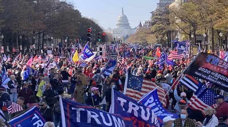 protest for trumph - updatenews360
