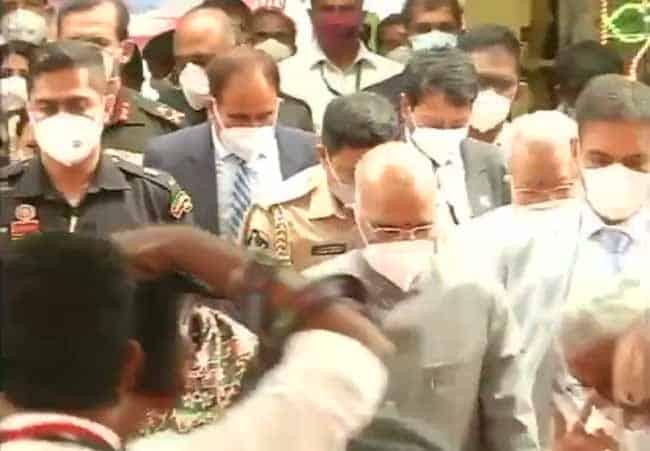 ramnath kovind tirupathi - - updatenews360