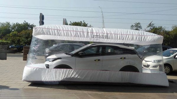 Tata Motors Dealerships Introduce Car Safety Bubble: Ensures Sanitised Cars At The Time Of Delivery
