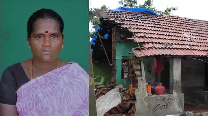 villupuram House Damage Dead - Updatenews360