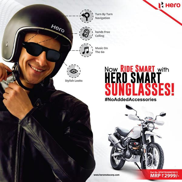 Hero Smart Sunglasses With Bluetooth Technology
