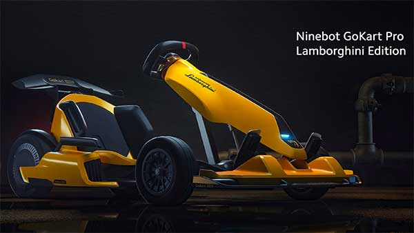 Ninebot Go-Kart Pro 'Lamborghini Edition' Introduced: A Limited-Edition Lambo For All Ages!