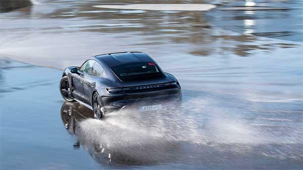 Porsche Taycan Creates New Drifting World Record: Longest Drift In An Electric Vehicle